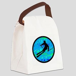 SKI Canvas Lunch Bag
