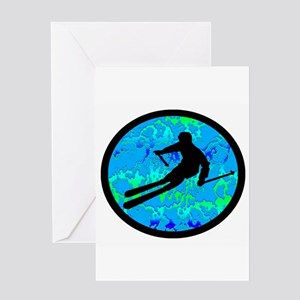 SKI Greeting Cards