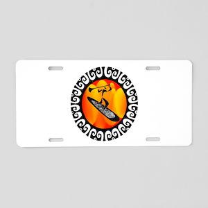 SUP Aluminum License Plate