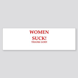women suck Bumper Sticker