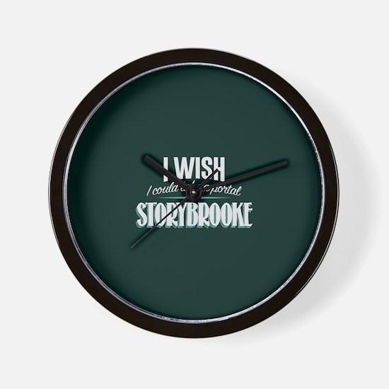 OUAT Portal to Storybrooke Wall Clock