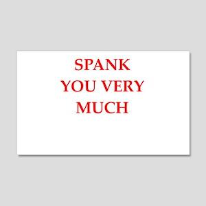 spank Wall Decal