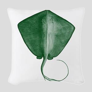 RAY Woven Throw Pillow