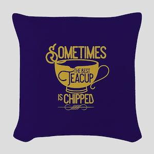 OUAT Teacup Woven Throw Pillow