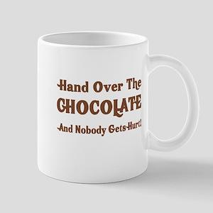 Hand Over the Chocolate Mugs