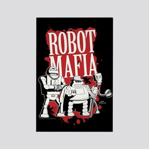 Futurama Robot Mafia Rectangle Magnet