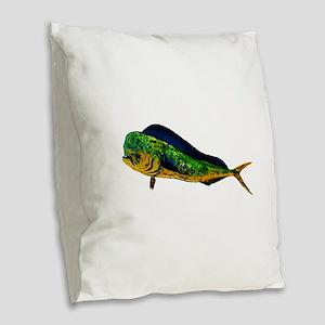 MAHI Burlap Throw Pillow