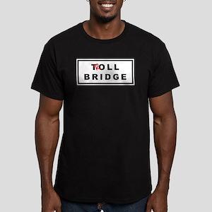OUAT Troll Bridge Men's Fitted T-Shirt (dark)