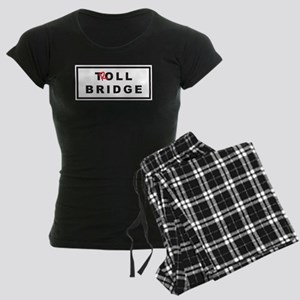 OUAT Troll Bridge Women's Dark Pajamas