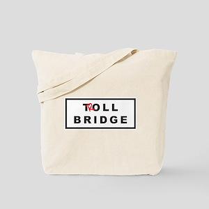 OUAT Troll Bridge Tote Bag