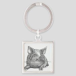 Pig Piglet Keychains