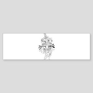 Symbolic Sword Bumper Sticker