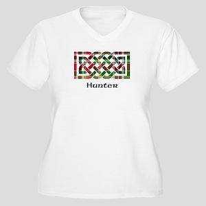 Knot - Hunter Women's Plus Size V-Neck T-Shirt