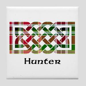 Knot - Hunter Tile Coaster