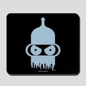 Futurama Bender City Mousepad