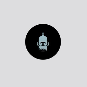 Futurama Bender City Mini Button