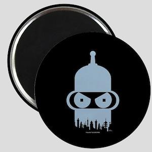 Futurama Bender City Magnet