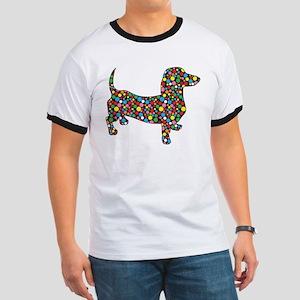 Polka Dot Dachshunds T-Shirt