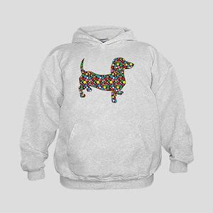 Polka Dot Dachshunds Sweatshirt