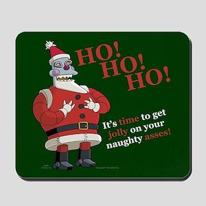Futurama Santa Claws Mousepad