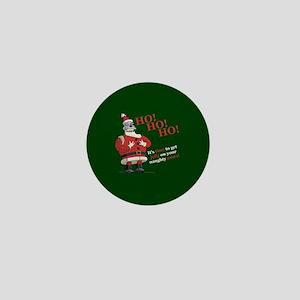 Futurama Santa Claws Mini Button