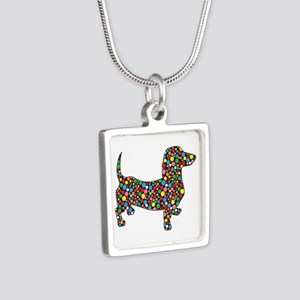 Polka Dot Dachshunds Necklaces