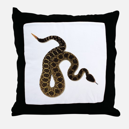 SLITHER Throw Pillow