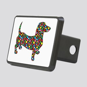 Polka Dot Dachshunds Hitch Cover