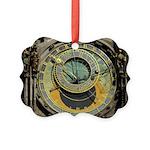 Prague Astronomical Clock Picture Ornament