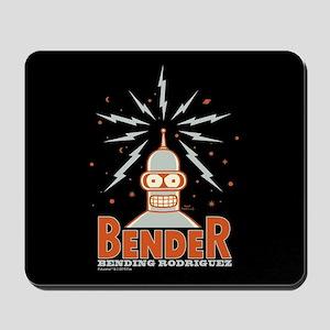 Futurama Bender Rodriguez Mousepad