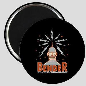 Futurama Bender Rodriguez Magnet