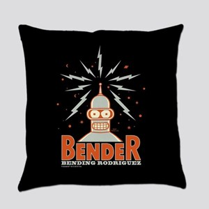 Futurama Bender Rodriguez Everyday Pillow
