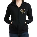 Fight Women's Zip Hoodie Sweatshirt