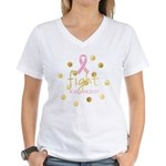 Fight Women's V-Neck T-Shirt