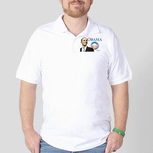 OBAMA YARD SIGN Golf Shirt