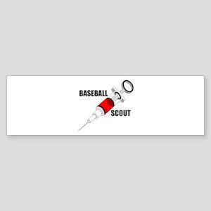 BASEBALL DRUGS Bumper Sticker