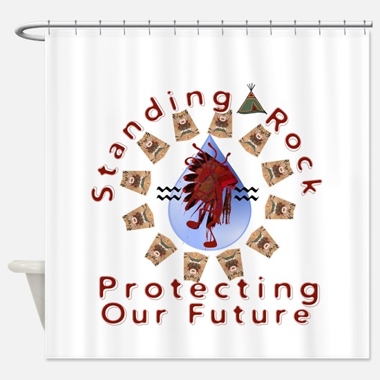 The Water Keepers Shower Curtain