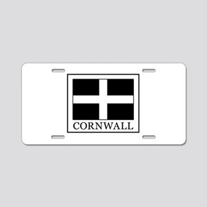 Cornwall Aluminum License Plate