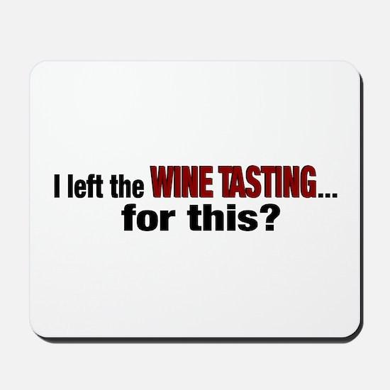 Wine Tasting Mousepad