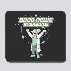 Futurama Good News Mousepad