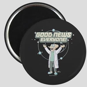 Futurama Good News Magnet