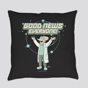 Futurama Good News Everyday Pillow