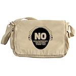 No Non-Emergency Socializing Messenger Bag