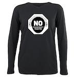 No Non-Emergency Socializing T-Shirt