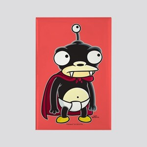 Futurama Nibbler Rectangle Magnet