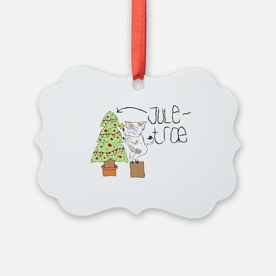 Cute Pig christmas tree Ornament