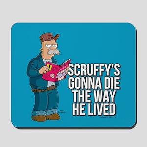 Futurama Scruffy Mousepad