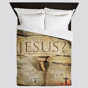 Names of Jesus Christ Queen Duvet