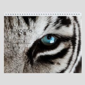 Tigers Wall Calendar
