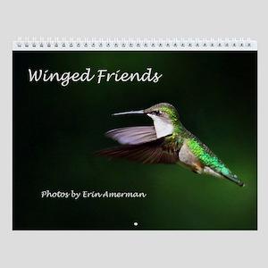 Winged Friends Wall Calendar